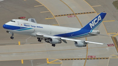 JA8191 - Boeing 747-281F(SCD) - Nippon Cargo Airlines (NCA)