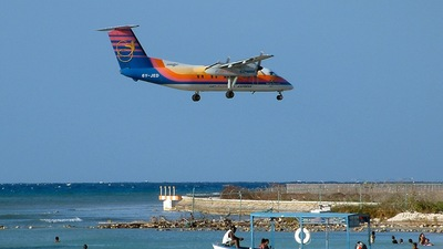 6Y-JED - Bombardier Dash 8-102 - Air Jamaica Express