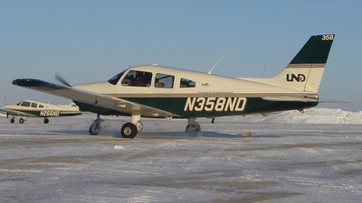 N358ND - Piper PA-28-161 Warrior III - University of North Dakota