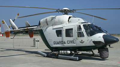 HU.22-09 - MBB BK117 - Spain - Guardia Civil