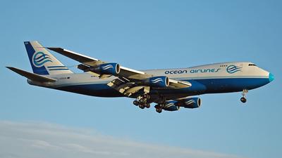 I-OCEA - Boeing 747-230F(SCD) - Ocean Airlines