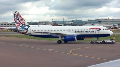 G-MEDA - Airbus A320-231 - British Airways (BMED)