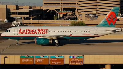 N633AW - Airbus A320-231 - America West Airlines