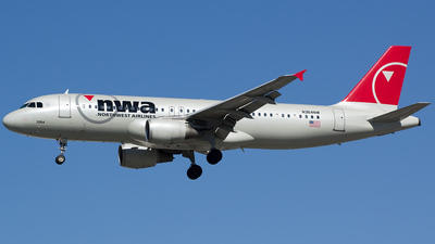 N364NW - Airbus A320-212 - Northwest Airlines