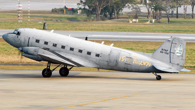 L2K-8/47 - Basler BT-67 - Thailand - Royal Thai Air Force