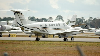 A picture of N550GL - Beech 200 Super King Air - [BB781] - © Oktawian Kosiorek