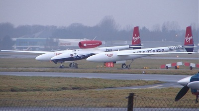N277SF - Scaled Composites GlobalFlyer - Virgin Atlantic Airways