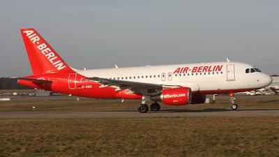 D-ABGI - Airbus A319-112 - Air Berlin
