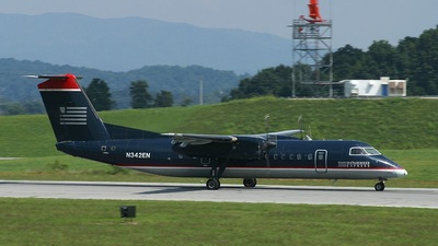 N342EN - Bombardier Dash 8-Q311 - US Airways Express (Piedmont Airlines)