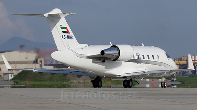 A picture of A6MBS - Bombardier Challenger 605 - [5728] - © fede