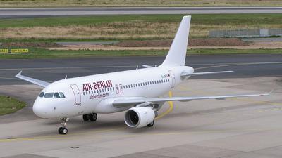 D-ABGG - Airbus A319-111 - Air Berlin