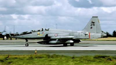 241 - Northrop F-5B Freedom Fighter - Norway - Air Force