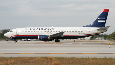 N434US - Boeing 737-4B7 - US Airways