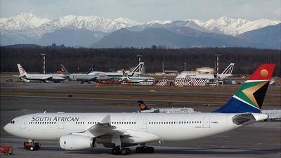 G-WWBD - Airbus A330-243 - South African Airways
