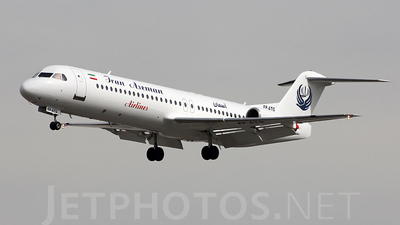 EP-ATG - Fokker 100 - Iran Aseman Airlines
