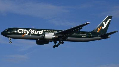 OO-CTA - Boeing 767-33A(ER) - CityBird