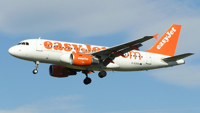 G-EZED - Airbus A319-111 - easyJet