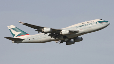 B-HOZ - Boeing 747-467 - Cathay Pacific Airways