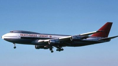 N608US - Boeing 747-151 - Northwest Orient Airlines