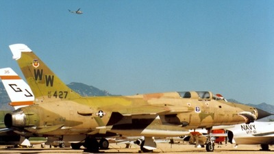 62-4427 - Republic F-105G Thunderchief - United States - US Air Force (USAF)