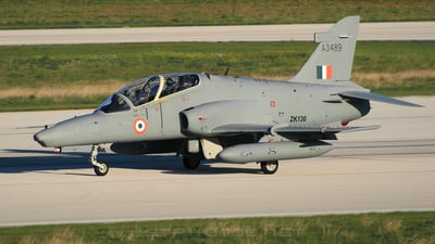 A3489 - British Aerospace Hawk Mk.132 - India - Air Force