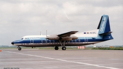PH-FKL - Fokker F27-500 Friendship - NLM CityHopper