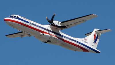 N308AE - ATR 72-212 - American Eagle (Executive Airlines)