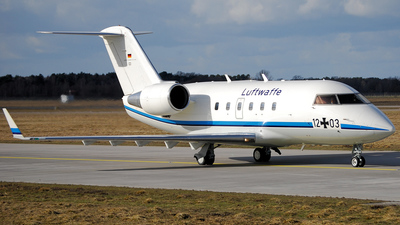 12-03 - Bombardier CL-600-2A12 Challenger 601 - Germany - Air Force