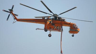 N6962R - Sikorsky S-64E Skycrane - Erickson Air-Crane