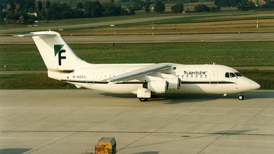 G-OZRH - British Aerospace BAe 146-200 - Flightline