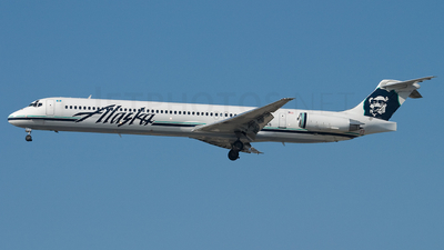 N977AS - McDonnell Douglas MD-83 - Alaska Airlines