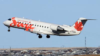 C-FVKN - Bombardier CRJ-100ER - Air Canada Jazz