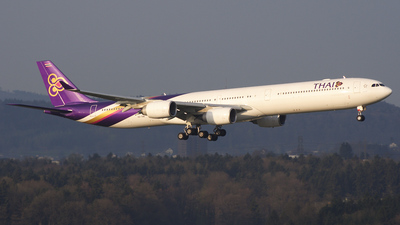 HS-TNB - Airbus A340-642 - Thai Airways International