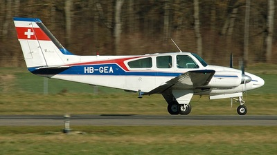 HB-GEA - Beechcraft 95-55 Baron - Private