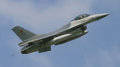 FA-109 - General Dynamics F-16AM Fighting Falcon - Belgium - Air Force