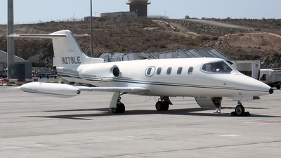 N279LE - Gates Learjet 25B - Private