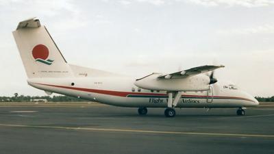 VH-XFU - Bombardier Dash 8-102 - Flight West Airlines