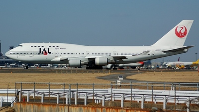 JA8087 - Boeing 747-446 - Japan Airlines (JAL)