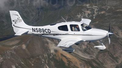 N589CD - Cirrus SR22-GTS - Private