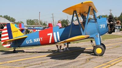 N7835B - Boeing A75N Stearman - Private
