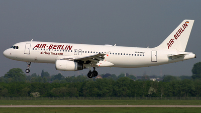 D-ANND - Airbus A320-232 - Air Berlin (Blue Wings)