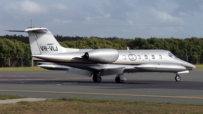 VH-VLJ - Bombardier Learjet 35A - JV Aviation Management
