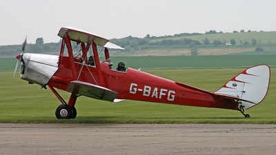 A picture of GBAFG - De Havilland DH82 Tiger Moth - [85995] - © J.M.Carballo