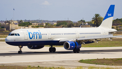 G-MEDL - Airbus A321-231 - bmi British Midland International