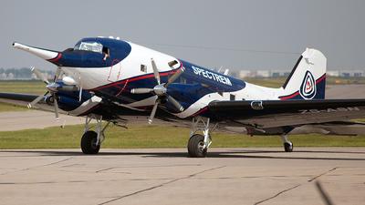 ZS-ASN - Basler BT-67 - Spectrem Air