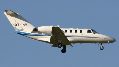 OY-INV - Cessna 525 CitationJet 1 - Private