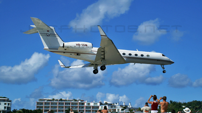 HB-IGM - Gulfstream G550 - G5 Executive
