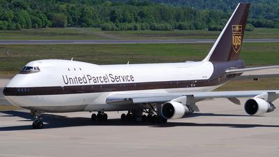 N672UP - Boeing 747-123(SF) - United Parcel Service (UPS)