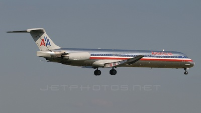 N7522A - McDonnell Douglas MD-82 - American Airlines