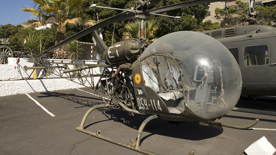 HE.7A-64 - Bell OH-13H Sioux - Spain - Army